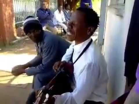 Funny Botswana Guitarist