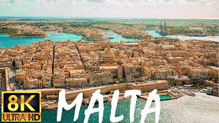 Malta in 8K - incredible island, cities, culture, tourism