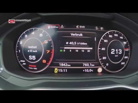 New Audi Q5 acceleration test ( 0 - 220 KM/h)