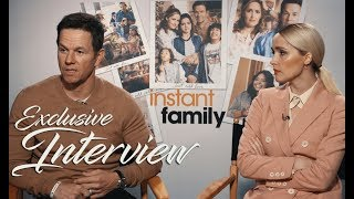 INSTANT FAMILY Interview: Mark Wahlberg & Rose Byrne