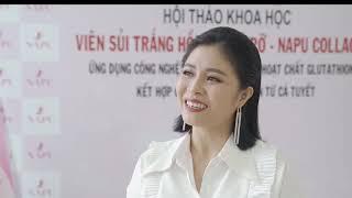 MC Hoàng Linh Chia Sẻ Cảm Nhận Sau Khi Dùng Viên sủi trắng da NAPU COLLAGEN