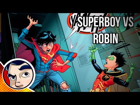 Superboy Vs Robin For The Future of the SUPER SONS! - Rebirth Complete Story
