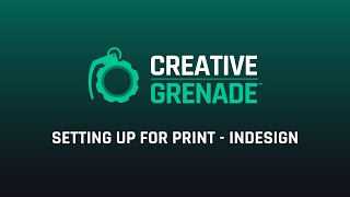 Setting up for print in InDesign - CreativeGrenade.com (Preview)