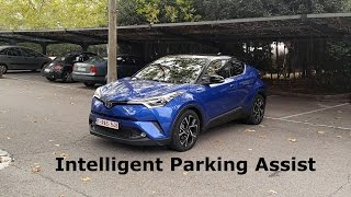 Toyota C-HR - Simple Intelligent Parking Assist system :: [1001cars]