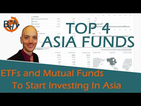 Best Asia Mutual Funds and ETFs 2017 & 2018