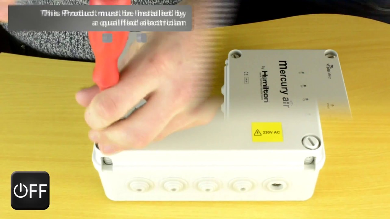 hamilton air 4 channel wireless switching system start up guide [ 1280 x 720 Pixel ]