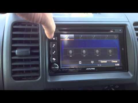 2005 Nissan Xterra - Frontier Alpine IVE-W535HD Radio ...