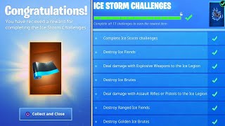 I Got the New ICE STORM CAMO in Fortnite..