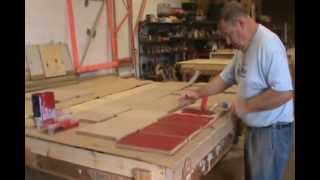 Behind The Scenes: Red Bookcase Construction