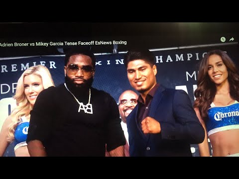 Adrien Broner: I Want To F#$K Up Mikey Garcia Hear Mikey's Reaction - esnews boxing