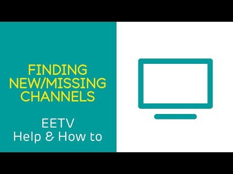 EE TV Help & How To: Finding new and missing Freeview channels