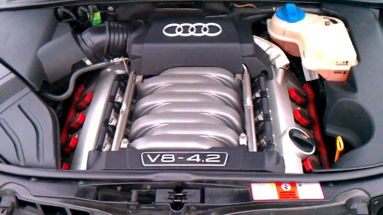2004 audi s4 b6 chain rattle cold youtube. Black Bedroom Furniture Sets. Home Design Ideas