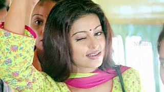 Sneha Comedy In Bus - Evandoi Srivaru Movie Scenes