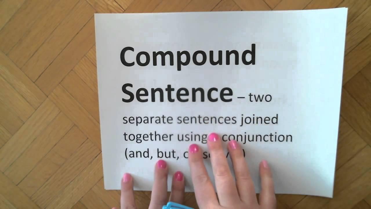 4.Compound Subjects, Compound Predicates, Compound Sentences - YouTube