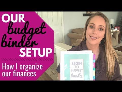Budget Binder Setup / How I Plan My Family's Finances / Budget Planner Setup