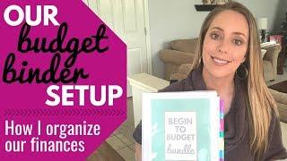 Budget Binder Setup / How I plan my family's finances / Budget Planner Setup
