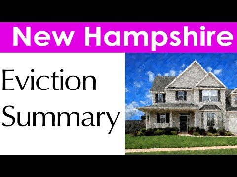 New Hampshire Eviction Laws for Landlords and Tenants