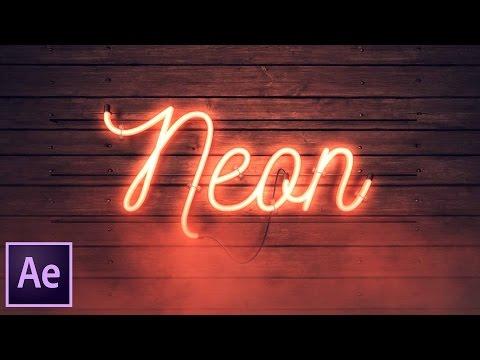 Neon Sign Kit Tutorial