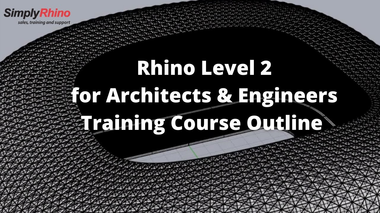 Rhino for Architects & Engineers - Simply Rhino