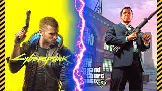 CyberPunk 2077 Could KILL Grand Theft Auto! | CyberPunk 2077 vs GTA