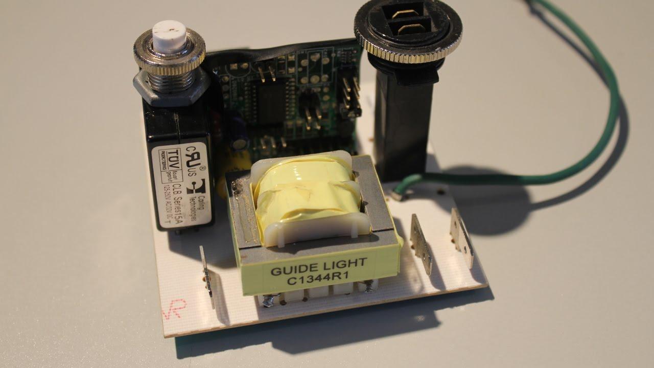 how to fix hayden central vac supervac premier control board circuit board control module 818766369 [ 1280 x 720 Pixel ]