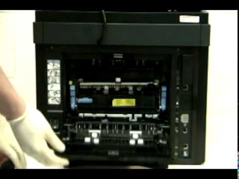 Dell 2335dn Fuser Maintenance Kit Replacement Youtube