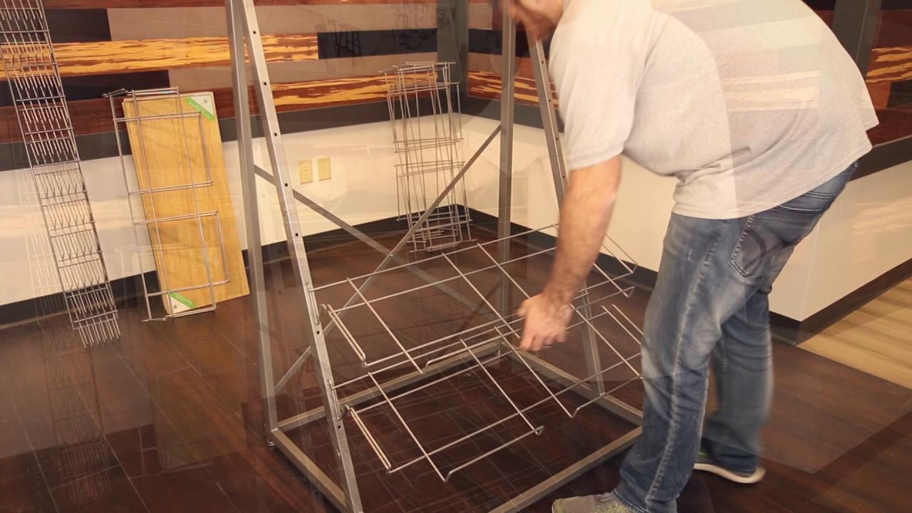 Cali Bamboo Flooring Display Assembly