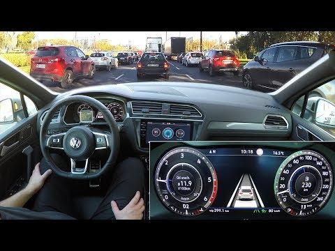 Volkswagen Tiguan: Traffic Jam Assist real test :: [1001cars]