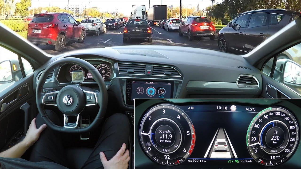Volkswagen Tiguan Traffic Jam Ist Real Test 1001cars