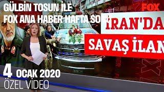 İran'dan savaş ilanı... 4 Ocak 2020 Gülbin Tosun ile FOX Ana Haber Hafta Sonu