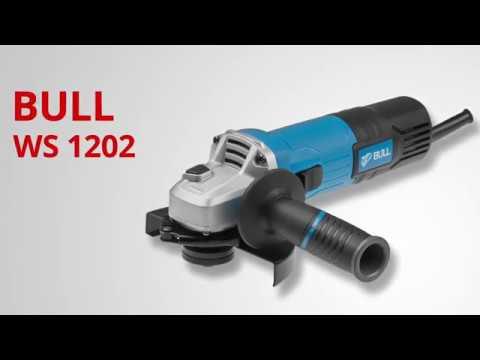 BULL WS 1202 Одноручная углошлифмашина