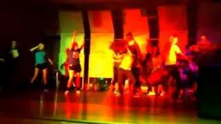 Harlem shake Pals talent show grapevine middle school