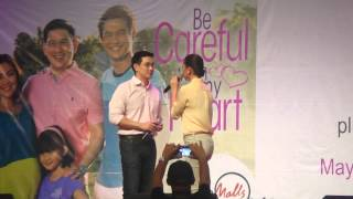 Mr. Richard Yap & Ms. Jodi Sta. Maria @ Marquee Mall Pampanga (May 17,2014)