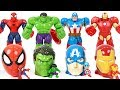 Marvel Avengers! Recover hulk surprise egg of the Lion Guard taken by dinosaur!! - DuDuPopTOY