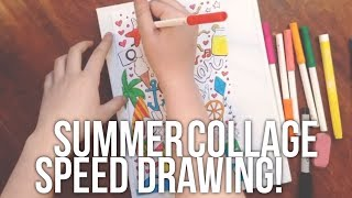 Summer Speed Drawing