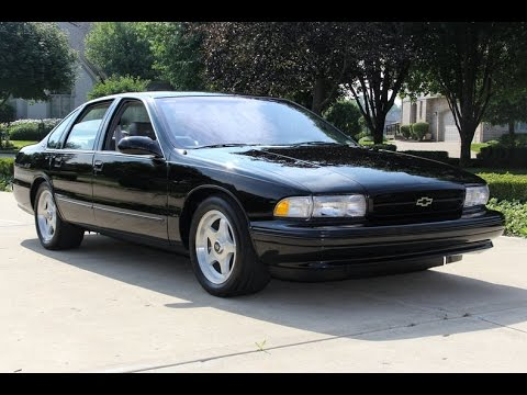 1996 Chevrolet Impala Ss For Sale Youtube