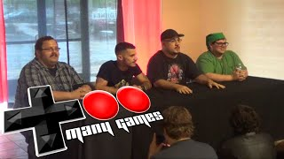 My TooManyGames 2015 Panel!