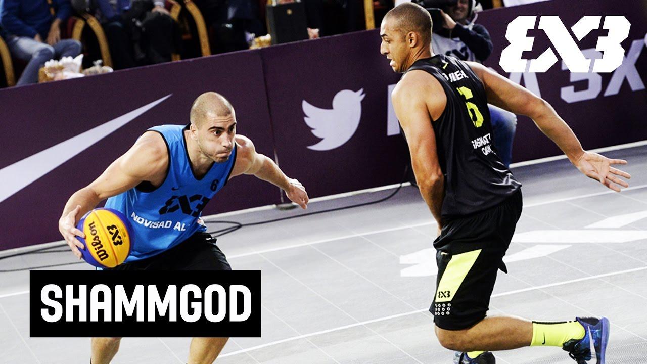 56dc305ccbb Bulut s ridiculous between-the-legs Shammgod - FIBA 3x3 - YouTube