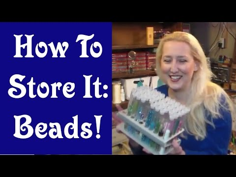 How to Store it Beads Jewelry Making Supplies YouTube