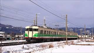 しなの鉄道115系S7編成試運転①