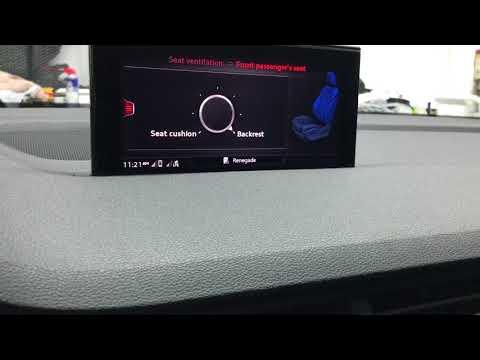 2018 Audi Q7 Ventilated Seat Noise