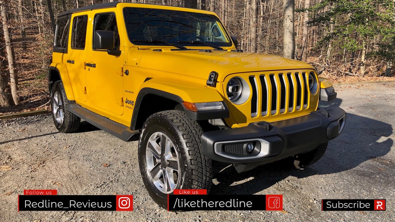 The 2020 Jeep Wrangler Ecodiesel Is The Most Efficient Powerful Wrangler Ever Youtube