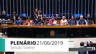 Plenário - Sessão solene - 21/06/2019 15:00
