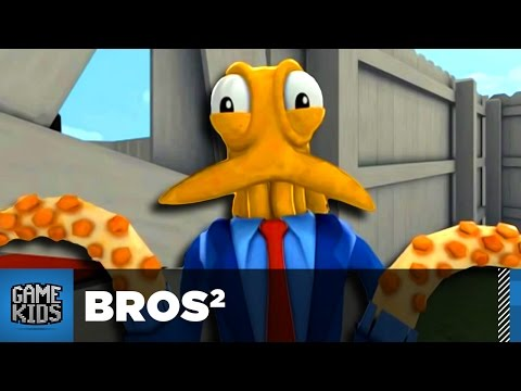 4 Player Octodad Dadliest Catch Part 2 - Bros²
