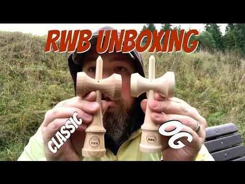 rwb unboxing red elm classic and maple og kendamas youtube