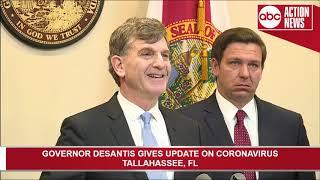 Florida Gov. Ron DeSantis holds news conference Thursday to discuss coronavirus