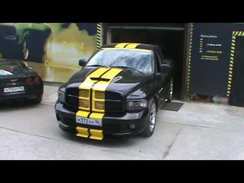 Exhaust By Dereiter Racing On Dodge Ram 1500 Srt 10 Tt