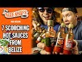 7 Scorching Hot Sauces from Belize!