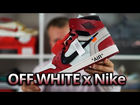 84c27f199ffcde OFF White x Nike Air Jordan 1 HONEST Review   Unboxing Virgil Abloh The Ten