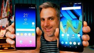 Samsung Galaxy A6 VS Wiko View 2 Pro